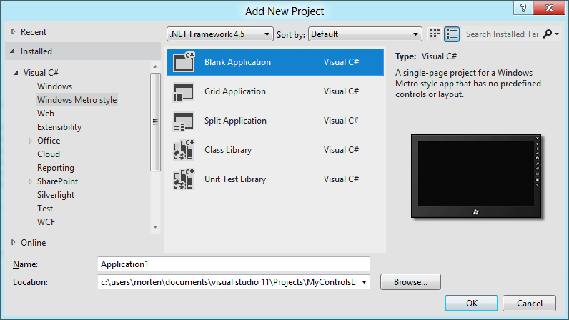 SharpGIS   Creating a DirectX XAML control using C++/CX